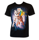 Camiseta Hora de aventuras - Riding Cat