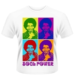 Camiseta James Brown Soul Power