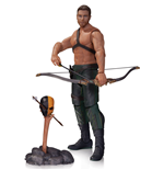 Arrow Figura Oliver Queen & Totem 17 cm