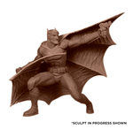 Batman Black & White Estatua Francis Manapul 18 cm