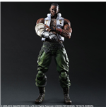 Final Fantasy VII Advent Children Play Arts Kai Figura Barret 28 cm