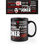 The Dark Knight Taza Joker Quotographic