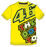 Camiseta Rossi The Doc 2015 Amarilla
