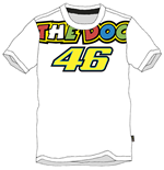 Camiseta Rossi The Doc 2015 Blanca