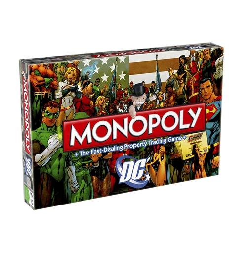 Compra Dc Comics Juego De Mesa Monopoly Retro Edicion Ingles