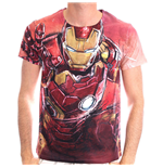 Camiseta Camiseta Camiseta MARVEL COMICS Iron Man Blasting Sublimation - S