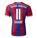 Camiseta Bayern de Munich 2014-2015 Home