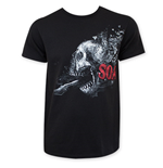 Camiseta Sons of Anarchy Shattered Skull Logo