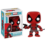 Marvel Comics POP! Vinyl Cabezón Deadpool 10 cm