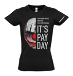 Camiseta PAYDAY 2 Chains Mask - de mujer - XL