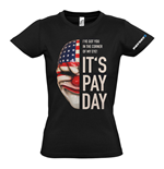 Camiseta PAYDAY 2 Dallas Mask - de mujer - S