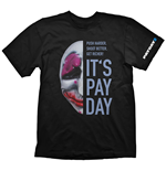 Camiseta PAYDAY 2 Houston Mask - S