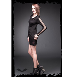 Vestido Queen of Darkness 138822