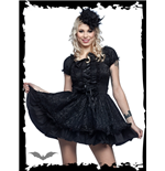 Vestido Queen of Darkness 138823