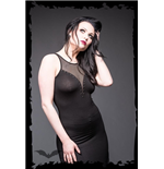 Vestido Queen of Darkness 138885