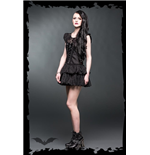 Vestido Queen of Darkness 138897