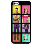 Funda Smartphone Big Bang Theory - Sheldon y Bernadette