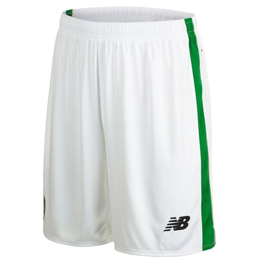 Pantalón corto Celtic 2015-2016 Home (Blanco)