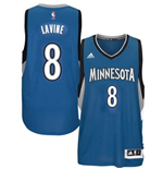 Camiseta Minnesota Timberwolves Zach Wiggins adidas New Swingman Road Azul