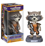 Guardians of the Galaxy Wacky Wobbler Cabezón Rocket Raccoon 18 cm
