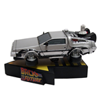 Regreso al Futuro II Shakems Figura Movible Flying DeLorean 18 x 13 cm