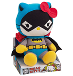 Hello Kitty DC Comics Peluche Batwoman 27 cm