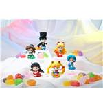 Sailor Moon Petit Chara Pretty Soldier Figuras 6 cm Surtido Make Up with Candy (6)