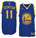 Camiseta Klay Thompson Golden State Warriors adidas New Swingman Road Azul