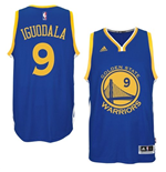 Camiseta Andre Iguodala Golden State Warriors adidas Royal Blue New Swingman Road