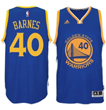 Camiseta Harrison Barnes Golden State Warriors adidas Royal Blue New Swingman Road