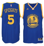 Camiseta Golden State Warriors Marreese Speights adidas New Swingman Road Azul
