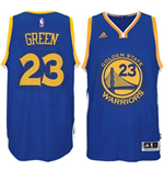 Camiseta Golden State Warriors Draymond Green adidas New Swingman Road Azul