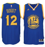 Camiseta Golden State Warriors Andrew Bogut adidas New Swingman Azul