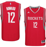 Camiseta Houston Rockets Dwight Howard adidas Red New Swingman Road