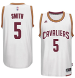 Camiseta Cleveland Cavaliers J. R. Smith adidas New Swingman Home Blanco