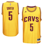 Camiseta Cleveland Cavaliers J. R. Smith adidas New Swingman Alternate Amarillo