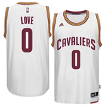 Camiseta Cleveland Cavaliers Kevin Love adidas White New Swingman Home