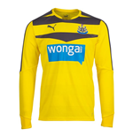 Camiseta Newcastle United 2015-2016 Home (Amarillo)
