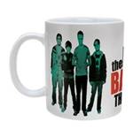 Taza Big Bang Theory - Green