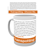 Taza Trainspotting - Frase