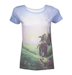 Camiseta The Legend of Zelda de mujer - Talla  XL