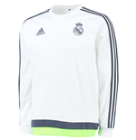 Camiseta manga larga Real Madrid 2015-2016 (Blanco)
