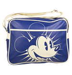 Bolso Messenger Retro Disney - Mickey Azul