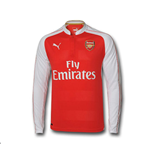 Camiseta manga larga Arsenal 2015-2016 Home