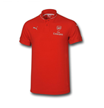 Polo Arsenal 2015-2016 (Rojo) de niño