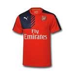 Camiseta Arsenal 2015-2016 (Rojo)
