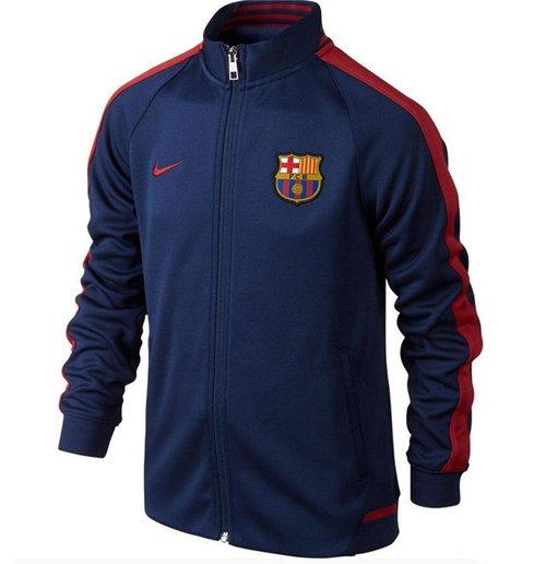 Chaqueta FC Barcelona 2015-2016 Nike Authentic N98 (Azul oscuro) de niño 23f03ee7faf