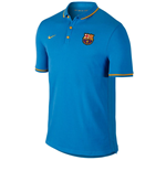 Polo FC Barcelona 2015-2016 Nike Authentic (Azul)