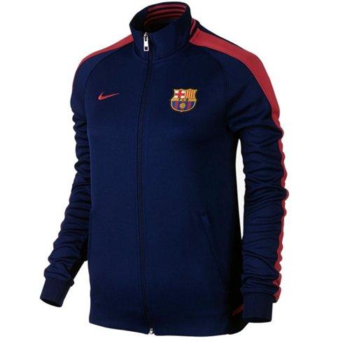 bfc84bd299fd4 Compra Chaqueta FC Barcelona 2015-2016 Nike N98 (Azul oscuro) de mujer