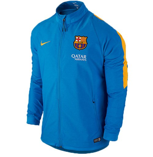 79675567a6ea9 Compra Chaqueta FC Barcelona 2015-2016 Nike Revolution Stretch (Azul ...